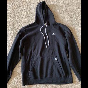 Black adidas oversized hoodie